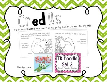 mini-reader: a Three Little Pigs version