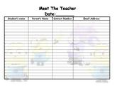 minion meet the teacher