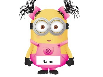 minions door labels