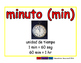 minute/minuto meas 2-way blue/rojo