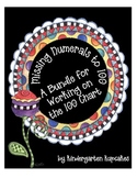 missing numerals to 100 bundle: working on the 100 chart
