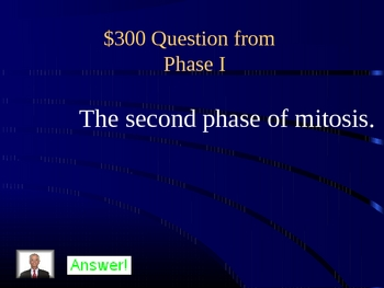 mitosis jeopardy PowerPoint game