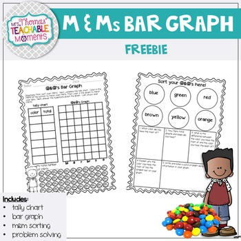 Bar Graph m&m's Activity FREEBIE