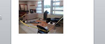 mock crime scene lab