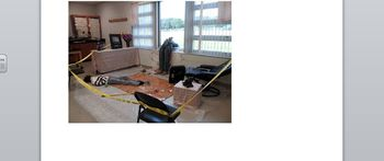 mock crime scene lab