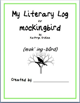 mockingbird Novel Study Unit Plan and Discussion & Activity Guide BUNDLE