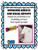 modeling arrays and equal groups