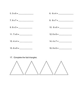 modified fifth grade everyday math unit one quiz