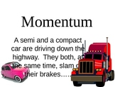 momentum law of conservation of momentum presenation
