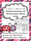 money and barter fluency and comprehension leveled passages