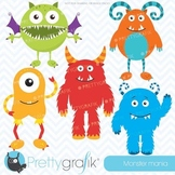 monster clipart commercial use, vector graphics, digital clip art - CL546