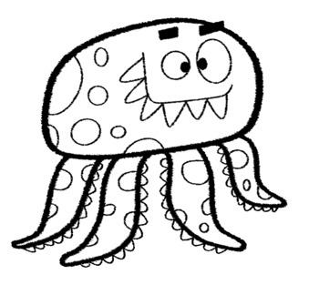Halloween Monsters Clip Art By Richard Pardo Teachers Pay Teachers