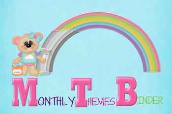 monthly theme binder