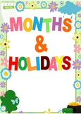 months and holidays