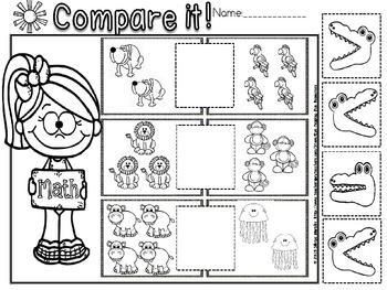 more or less worksheet(free)