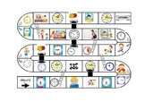 morning routine and time (snake and ladder)