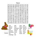 mot caché de Pâques (Easter wordsearch in french)