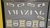 motivational bulletin board Growth Mindset quotes