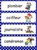 mots étiquettes - les métiers