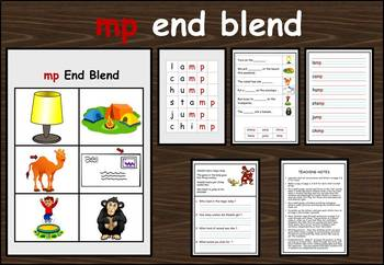 mp end blend work packet