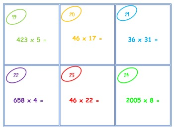 multi-digit multiplication scoot