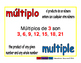 multiple/multiplo prim 1-way blue/rojo