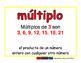 multiple/multiplo prim 2-way blue/rojo