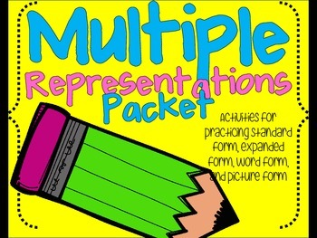 multiple representations packet