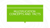 multiplication concepts and facts