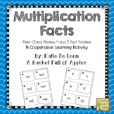 multiplication facts 4 and 5: Cooperative Learning Peer-Check-Review