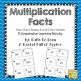 multiplication facts 8 and 9: Cooperative Learning Peer-Ch