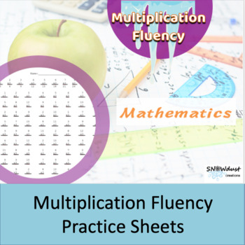 Multiplication Worksheets 1-12 | Teachers Pay Teachers