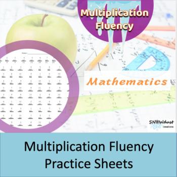 multiplication fluency 1-12