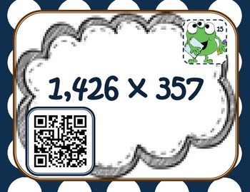 multiplication madness {QR codes}