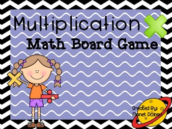 multiplication math facts multiplication board game