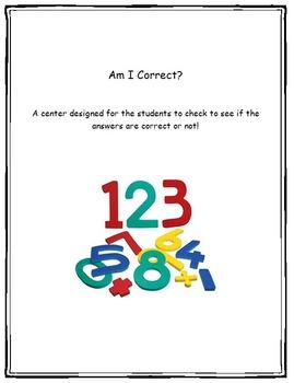 multiplication/division center