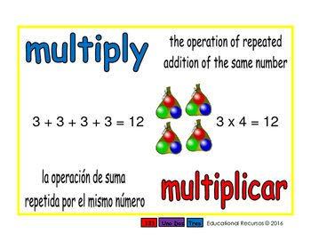 multiply/multiplicar prim 1-way blue/rojo