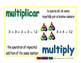 multiply/multiplicar prim 1-way blue/verde