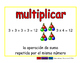 multiply/multiplicar prim 2-way blue/rojo