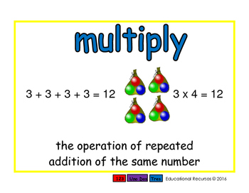 multiply/multiplicar prim 2-way blue/verde