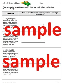 Two-Digit Addition & Subtraction (Common Core Problem Types)