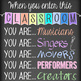 music CHALK - Classroom Decor: LARGE BANNER, You are the Reason I AM HERE