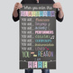 music CHALK - Classroom Decor: SMALL BANNER, You Are The Reason I AM HERE