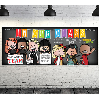 music CHALK {melonheadz} - Classroom Decor: LARGE BANNER, In Our Class, BOLDS