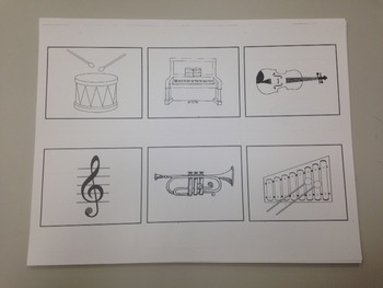 music memory cards in black and white