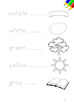 my colorbook - learn colors