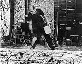 my original rhyming poem about Jackson Pollock