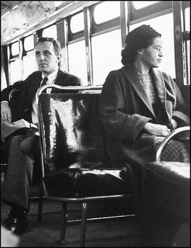 my original rhyming poem about Rosa Parks
