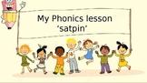 my phonics lesson