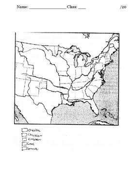 myWorld Interactive American History Topic 6 Map: Indian Removal Act